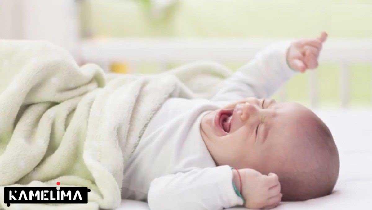 علت گریه ناگهانی نوزاد در خواب