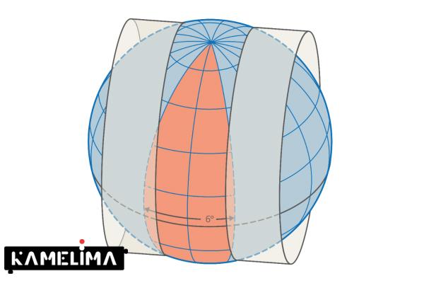 نقشه UTM
