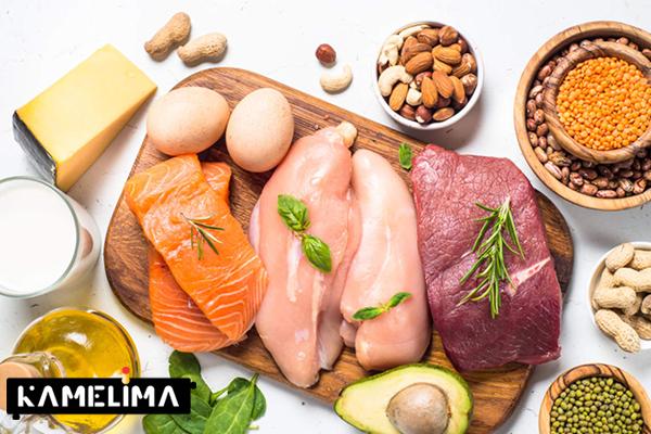 نقش پروتئین در کاهش وزن و لاغری