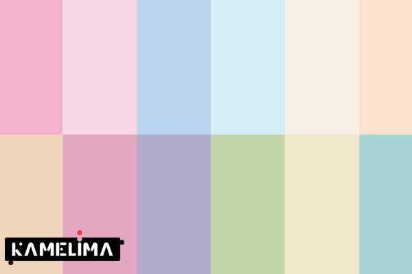 رنگهای پاستلی
