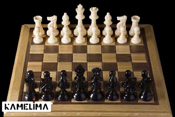 نحوه قرار دادن مهره ها روی صفحه شطرنج