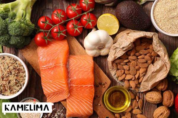 انتخاب رژیم غذایی مناسب برای کاهش چربی کمر