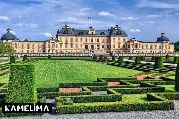 کاخ دروتنینگهلم از جاهای دیدنی سوئد