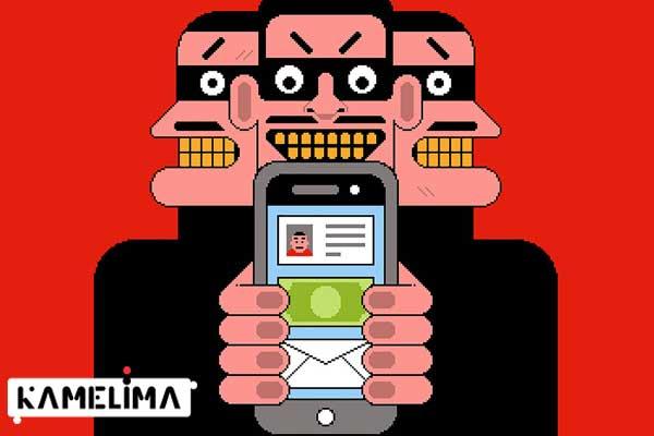 یکی از رایج ترین روش های هک گوشی ، پیام های فیشینگ