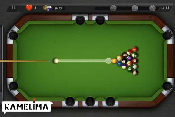 بازی بیلیارد شهر بیلیارد Billiards City