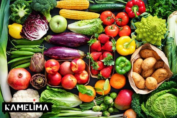 کاهش چربی کمر با میوه و سبزیجات