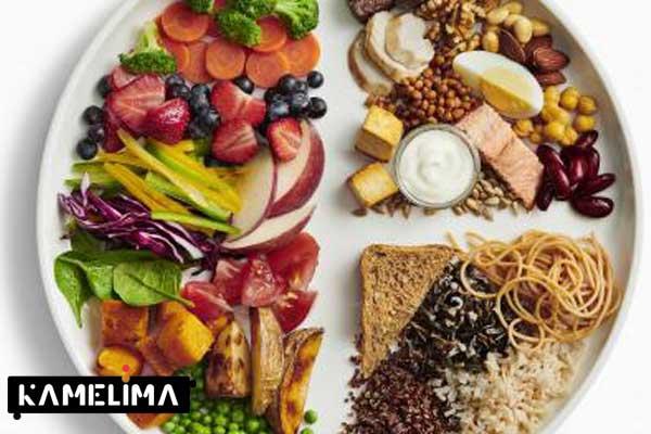 تعادل وعده غذایی برای کاهش چربی کمر