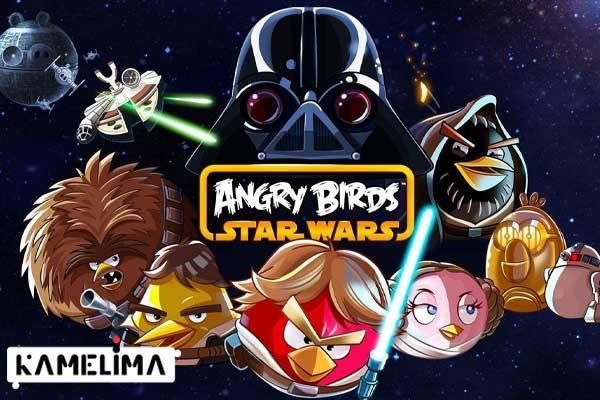 بازی ویندوز 8 پرندگان خشمگین جنگ ستارگان (Angry Birds Star Wars)