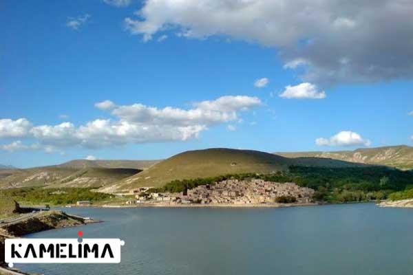 دریاچه علویان از جاذبه های گردشگری مراغه