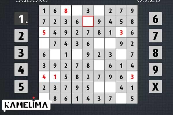سودوکو، یک بازی ویندوز 8 محبوب