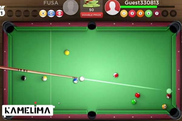 بازی پادشاهان بیلیارد Kings of pool