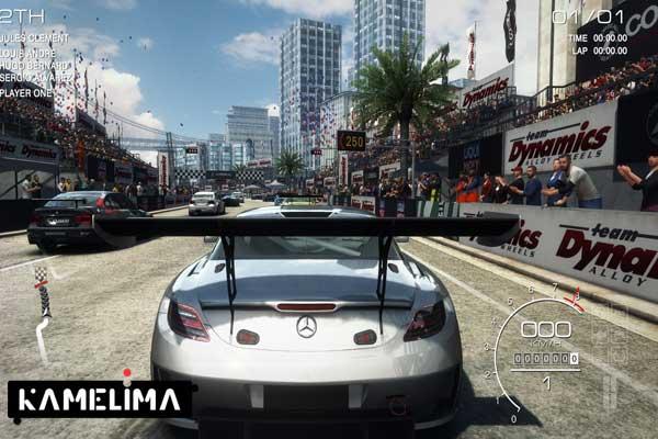 بازی موبایل ورزش اتومبیل GRID autosport با قابلیت اتصال دسته