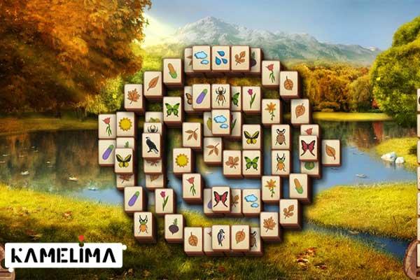 بازی ویندوز 8 Microsoft Mahjong