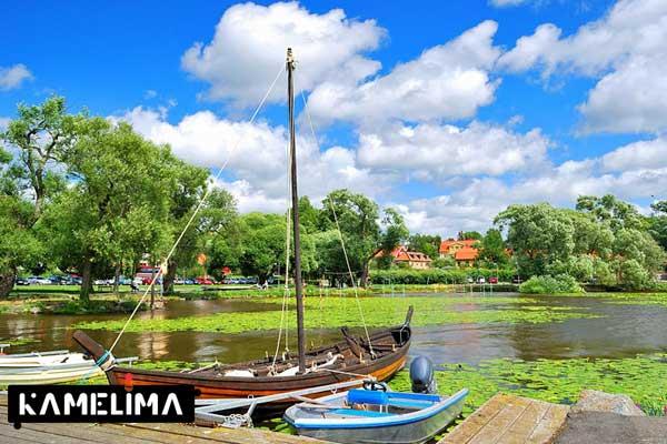 سیگتونا از شهرهای زیبا سوئد