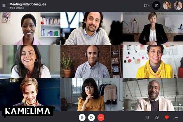 تماس صوتی،تصویری، چت و پیام رایگان در برنامه Skype
