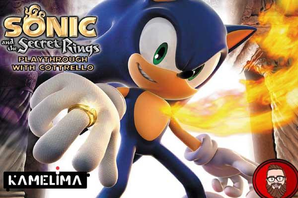 بازی سونیک Sonic and the Secret Rings (Wii)
