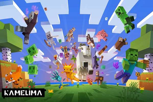 بازی موبایل با دسته محبوب ماینکرافت Minecraft