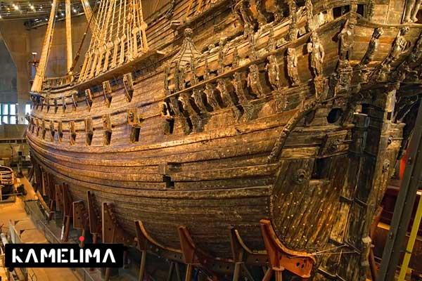 موزه واسا، استکهلم از جاهای دیدنی سوئد