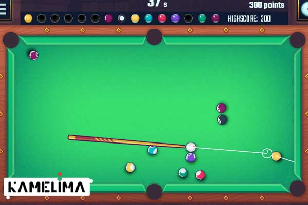 بازی بیلیارد Billiards Club