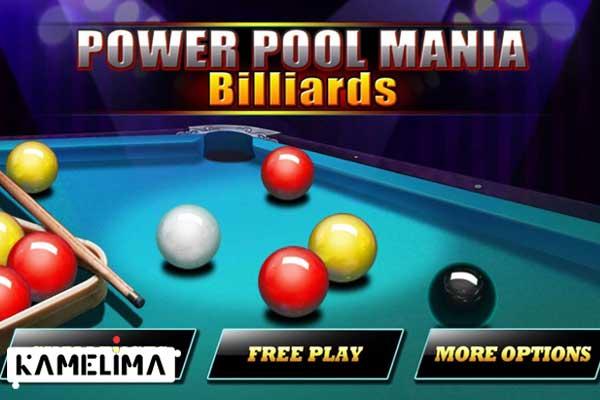 بازی بیلیارد Pool Mania