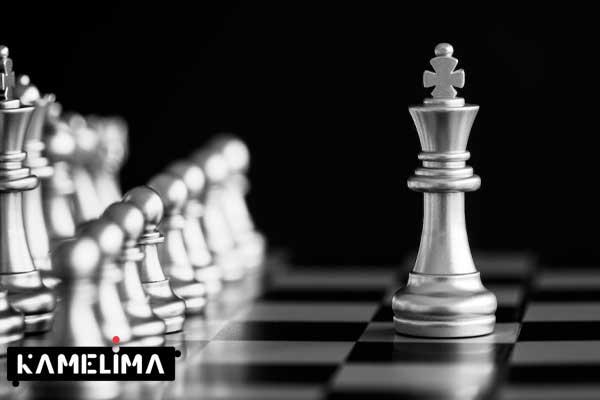 نحوه حرکت شاه در شطرنج