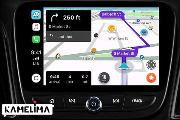 Waze در خودروها چگونه است؟