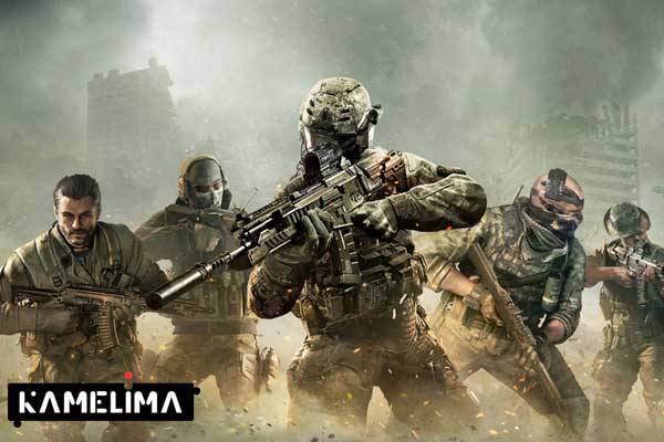 بازی موبایل با دسته کالاف دیوتی Call of Duty