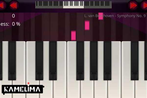 بازی پیانو (Piano)